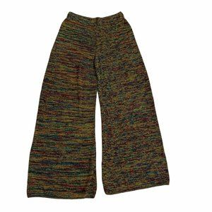 Earthbound Trading Co Knit Pants Flared Multicolor